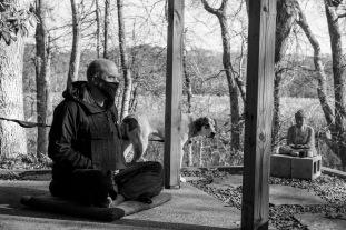 Jukai ceremony, Hyannis Zendo (Photo by Charles Daly)